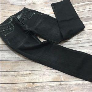 White House Black Market Blanc Straight Leg Jeans
